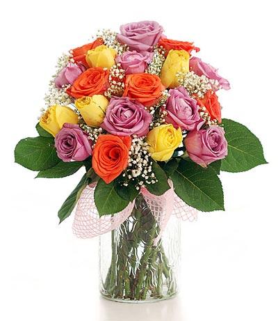 17 kiểu cắm hoa hồng thanh lịch